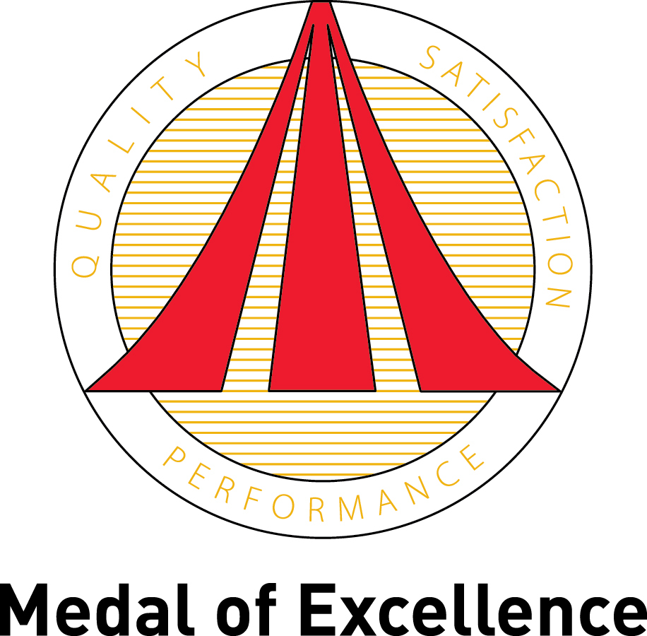 Medal of excellence logo